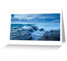 Stormy Seas - Currumbin Beach, Gold Coast, Australia Greeting Card