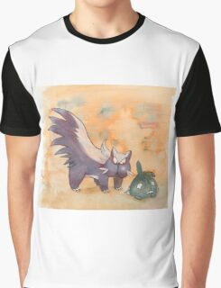 stunky and trubbish pokemon Graphic T-Shirt