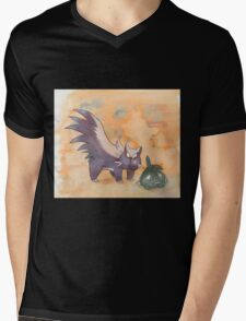 stunky and trubbish pokemon Mens V-Neck T-Shirt