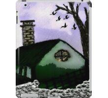 The Rustic Village Hut iPad Case/Skin