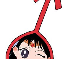 Sailor Mars  by SillyPastaCat