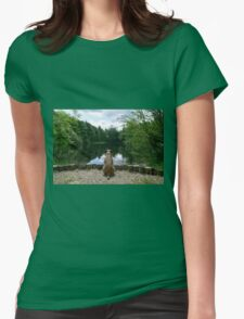 By the Pond Womens Fitted T-Shirt