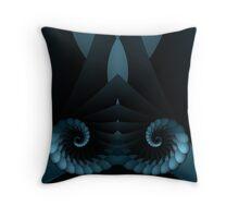 Layered Spiral Throw Pillow