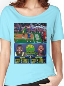 Seattle Supersonics NBA Jam  Women's Relaxed Fit T-Shirt