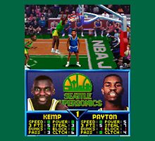Seattle Supersonics NBA Jam  Unisex T-Shirt