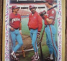 066 - Phillies Leaders by Foob's Baseball Cards