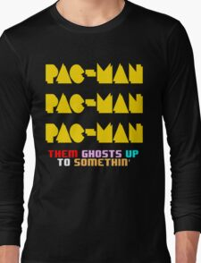 PACMAN/Jumpman Color Long Sleeve T-Shirt