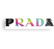 p RAD a   rainbow Metal Print