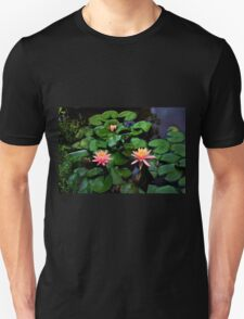 Water Lilies In Armenia, Colombia Unisex T-Shirt