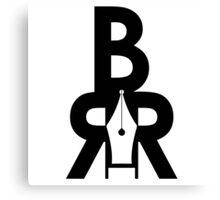 Battle Rap Résume Logo Canvas Print