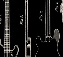 Fender Telecaster Guitar Patent 1953 Sticker