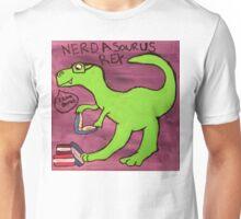 Nerdasaurous Rex Unisex T-Shirt