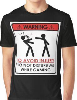 Don't Disturb Gamers Graphic T-Shirt