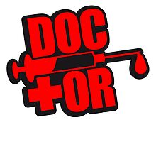 Doctor syringe blood remove logo by Style-O-Mat
