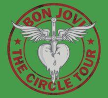 Bon Jovi Circle Tour Baby Tee