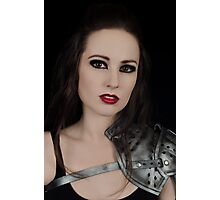 Dark Beauty Photographic Print