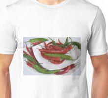 red&green pepper Unisex T-Shirt