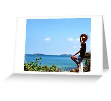 Pirate Island, let's explore new Place. You dare ?? Greeting Card