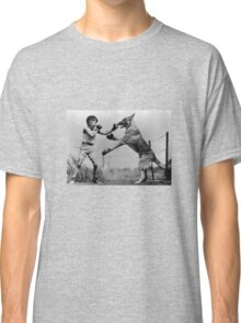 Boxing Dog Classic T-Shirt