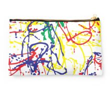 Paint in Crayons Studio Pouch