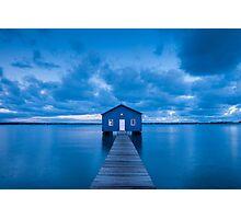 Matilda Bay Boatshed Photographic Print