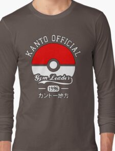 Kanto Official - Pokémon Long Sleeve T-Shirt