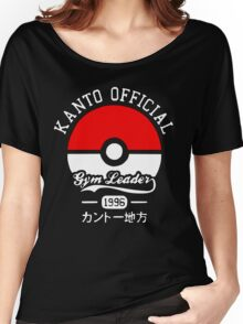 Kanto Official - Pokémon Women's Relaxed Fit T-Shirt