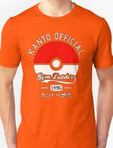 Kanto Official - Pokémon Unisex T-Shirt