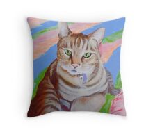 Lupin, King of Cats! Throw Pillow