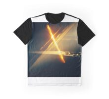 First Light at Dawn: Lens Interference 4 Graphic T-Shirt