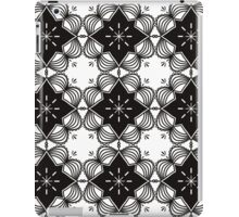Black and White Mandala Artwork Original { Luxury Art Collection } iPad Case/Skin
