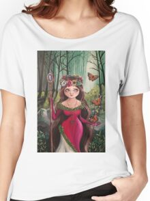 The Druid Girl Women's Relaxed Fit T-Shirt
