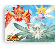 Fairy RPG Online Canvas Print