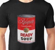 warhol religion condensed soup Unisex T-Shirt