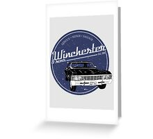 Winchester & sons Greeting Card