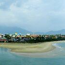 View from Hài Vân Pass by hans p olsen