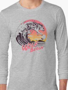 Wolf Beach Long Sleeve T-Shirt