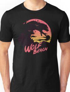 Wolf Beach Unisex T-Shirt