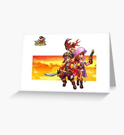 Pirate RPG Online Greeting Card