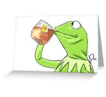But That's None of My Business Greeting Card