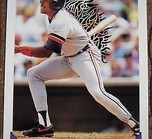 096 - Milt Cuyler by Foob's Baseball Cards