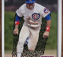 097 - Ced Landrum by Foob's Baseball Cards