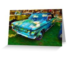 Chevrolet Corvair Greeting Card