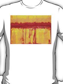 Rocky Mountains original painting T-Shirt