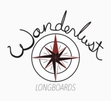 Wanderlust Longboards, solid white by lovelymissshae