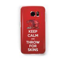 iBUYPOWER Keep Calm and Throw for Skins Samsung Samsung Galaxy Case/Skin