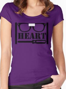 Alex Heart Piper Women's Fitted Scoop T-Shirt