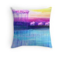 The Parallel World Throw Pillow