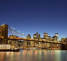 Brooklyn Bridge by Mark Eden