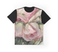 Miracle Of A Rose Bud - Pink Graphic T-Shirt